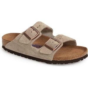 BIRKENSTOCK 'Arizona' Soft Footbed Suede-Size 37